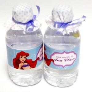 garrafinha agua personalizada ariel