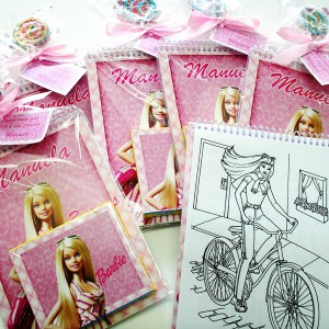 Kit Colorir Barbie