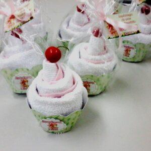 Cupcake Toalha Precious Moments