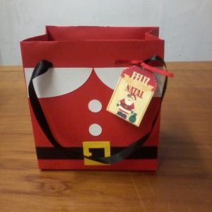 Sacolinha Scrap Natal