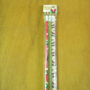 Kit lápis personalizado natal