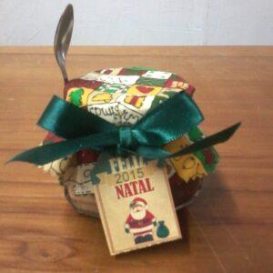 Panetone de colher brinde de natal