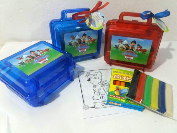 maleta massinha e kit colorir