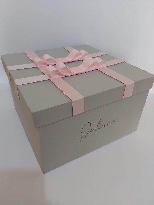 caixa presente personalizada